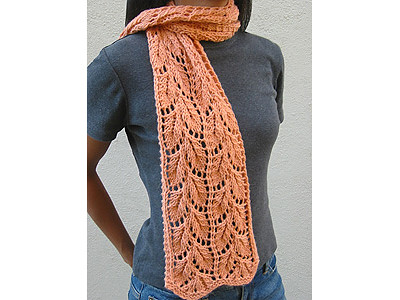 Liesel Lace Scarf by Mary Joy Gumayagay