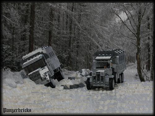 Panzerbricks: los rigores del invierno