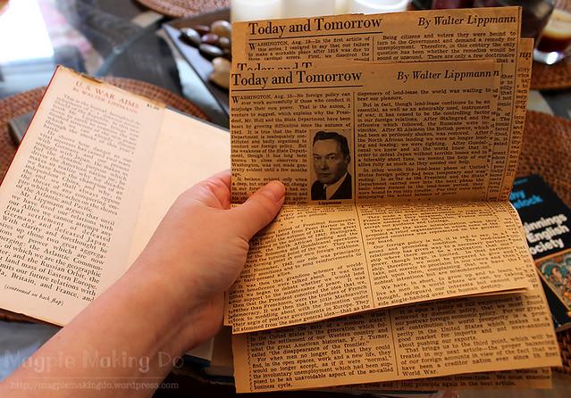 Newspaper gem in War Aims