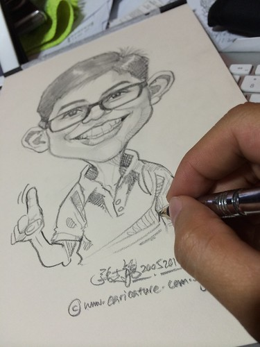 caricature in pencil 20052014