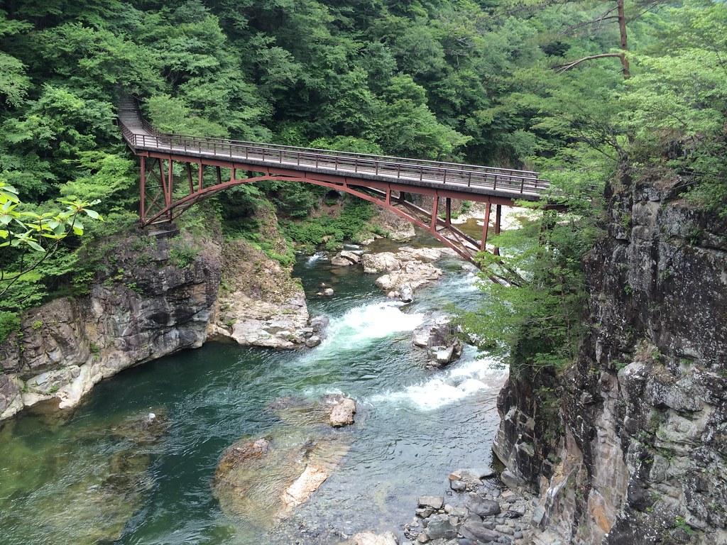 竜王峡の虹見橋