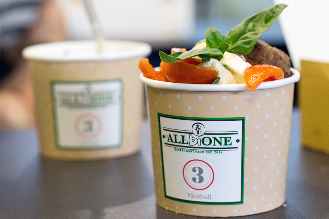 All bi one roma Dressing&Toppings
