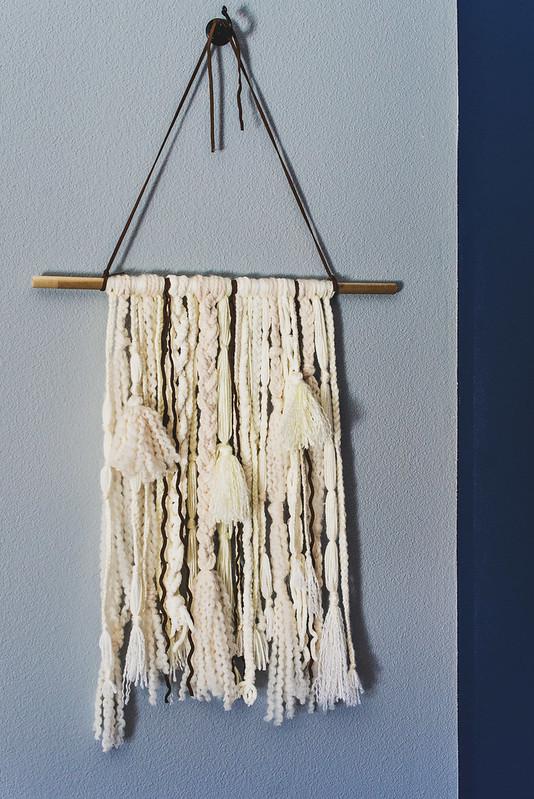 diy wall hanging tutorial
