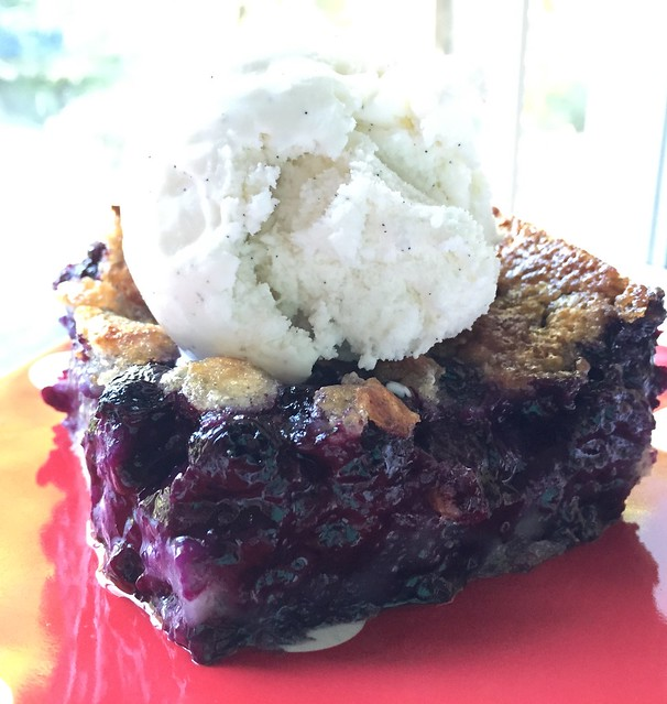 Mrs. Fields Secrets Blueberry Cobbler