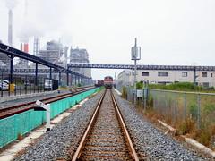 Nippon Paper Industries Ishinomaki 日本製紙 石巻工場 仙石線貨物支線 石巻港駅