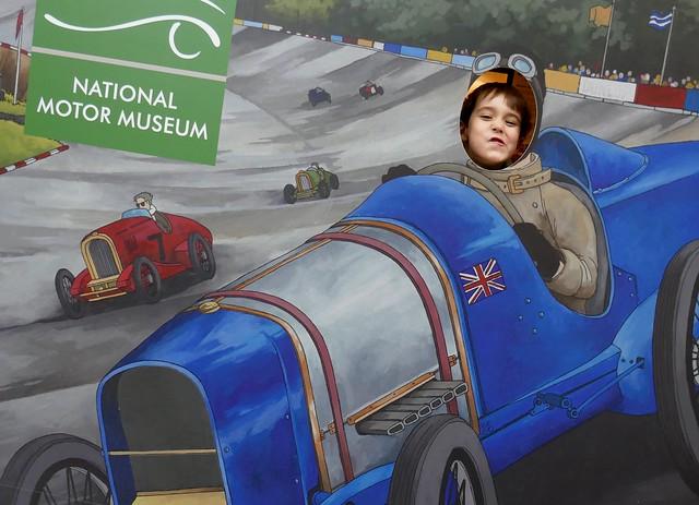 Racing Car Driver Jasper