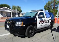 La Habra CA Police - Chevrolet Tahoe K-9 unit (1)