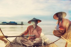 Every fisherman needs his vice~ myanmar
