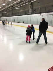 First Time Ice Skating