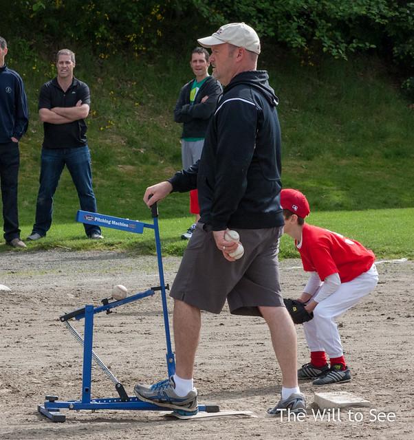 Jim pitching machine