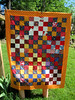 Red and Orange Quilt for QBB