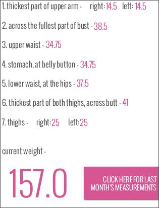 body measurements october