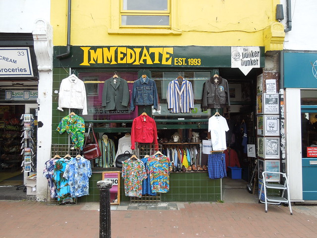 immediate vintage clothing shop brighton flickr photo
