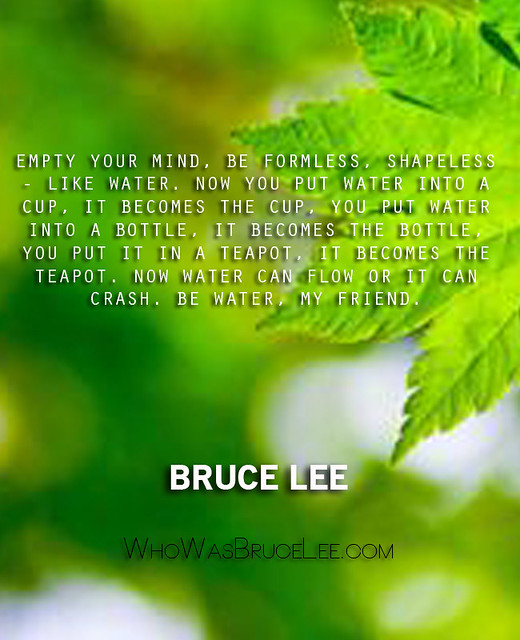 Bruce Lee Empty Your Mind