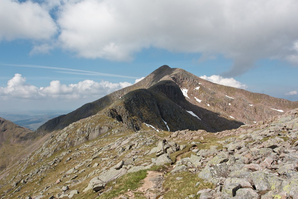 Ridge to Ben Cruachan