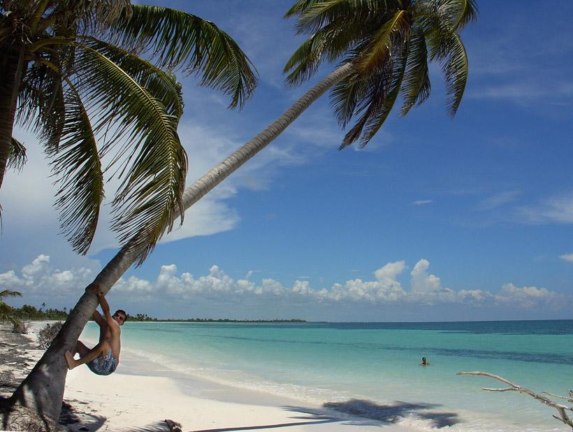 Yucatan beach.