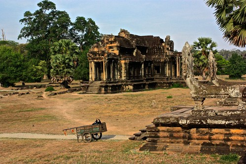 buildings on the grounds of Angkor Wat