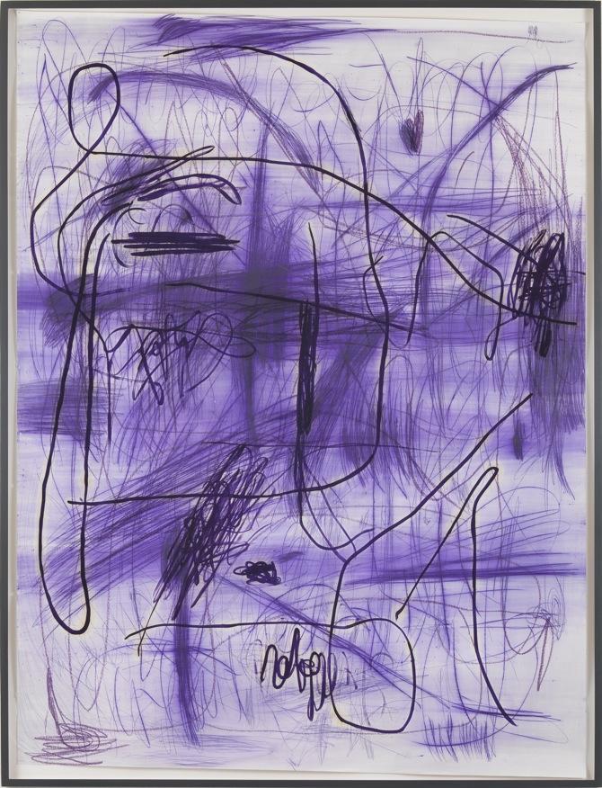 18 Jana Schröder, Spontacts, P 3, 150 x 200 cm, Kopierstift und Öl auf Papier, 2012 (2)
