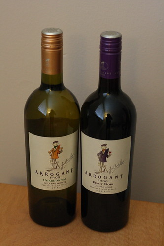 Arrogrant Frog Wine