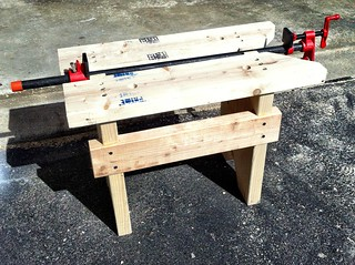 Finished sawbench