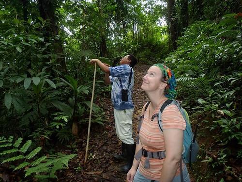 Dr. Georgianne Moore teaching at the TAMU Soltis Center in Costa Rica