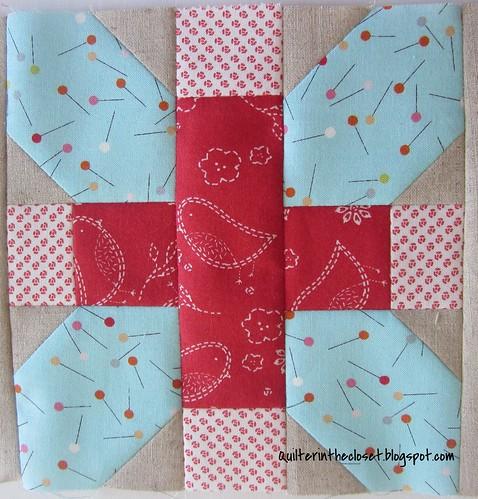 X plus, sewing mat WIP