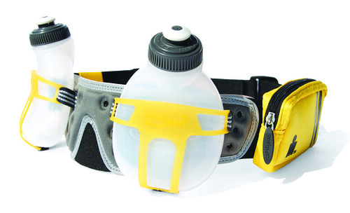 FUELBELT Ironman Collection R2O 2- Bottle Hydration Belt_yellow carbon2_P1,695