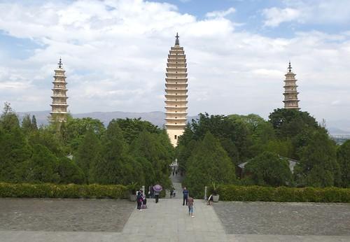 Yunnan13-Dali-1. Pagodes-étang (24)