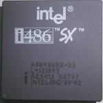 03 Intel A80486SX-33 33MHz 09 1992