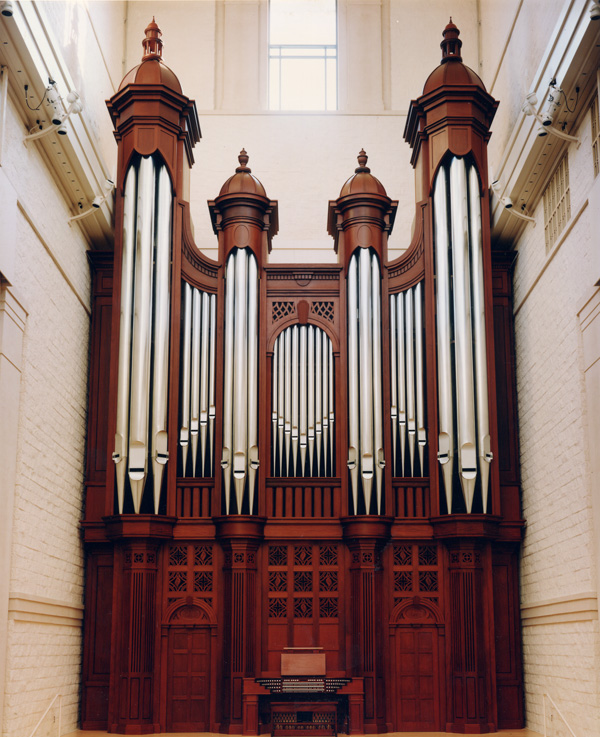 Edythe Bates Old Recital Hall and Grand Organ