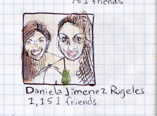 Facebook Profile Pictures Drawing Project