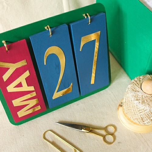 Perpetual Calendar for Whimseybox