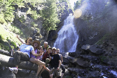 Group Pic at Holland Falls!