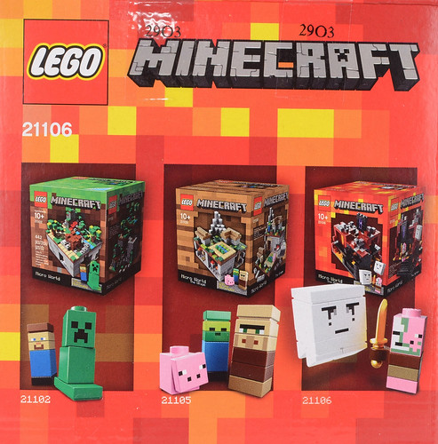 Review: 21106 Minecraft Micro World: The Nether | Brickset: LEGO set ...