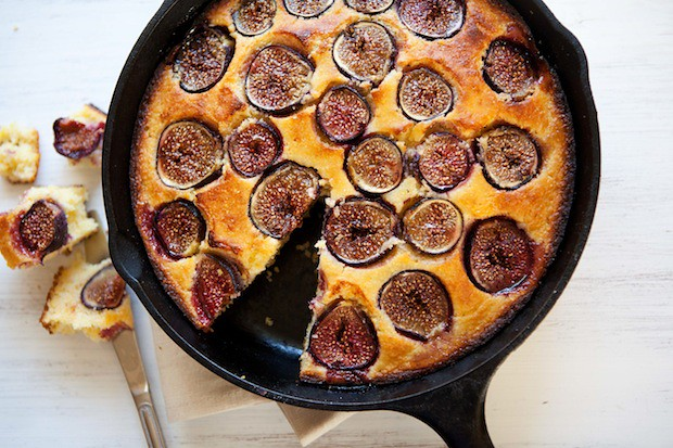 Fresh Fig Cornbread from Food52