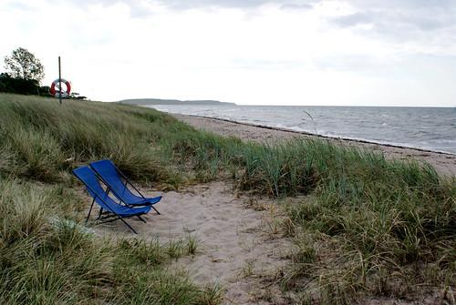 summer beach nature skåne view