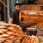 Srinagar Fried Snacks and Street Food - Kashmir, India