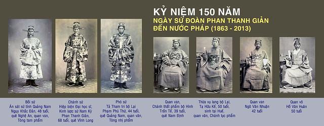 Kỷ niệm 150 năm ngày Sứ đoàn PHAN THANH GIẢN đến nước Pháp (1863 - 2013)
