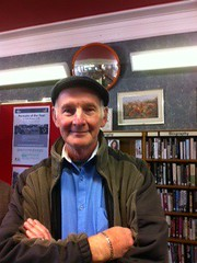 Collecting oral histories at Padiham Library 14.9.13