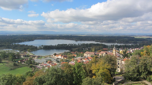 view of town at hlubocka nad vltavou