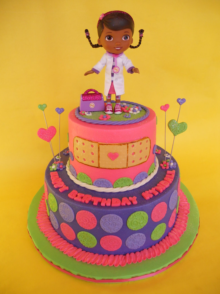 Doc Mcstuffins Birthday Cake A Photo On Flickriver