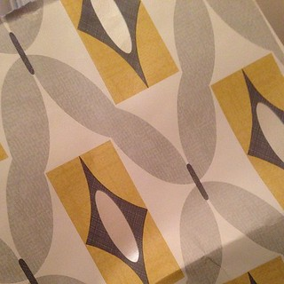 Want this wallpaper for the wee feature wall/fireplace wall in our living room (all other walls plain) I think it's 60s and cool also I love grey and yellow but I've a feeling other people will hate it. Yay/nay?