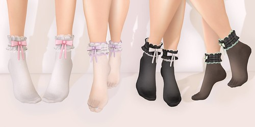 .tsg. Prissy Ruffle Socks @ Kustom9 by Eilfie Sugarplum
