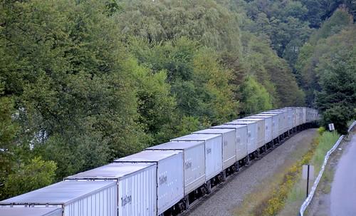 railroad ns trains tunnels roadrailer gallitzin