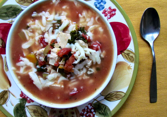 Hearty Chicken Tomato Vegetable Soup