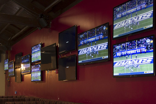 Joseph's Bar and Grill TVs