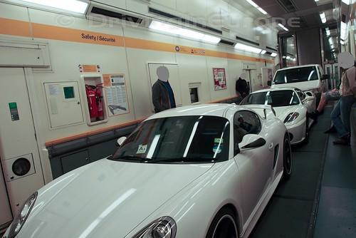 ユーロトンネル シャトル 内部