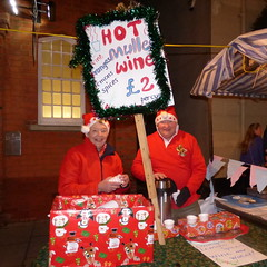 Julie and Alan Marshall Mulled Wine Elves for Mayor