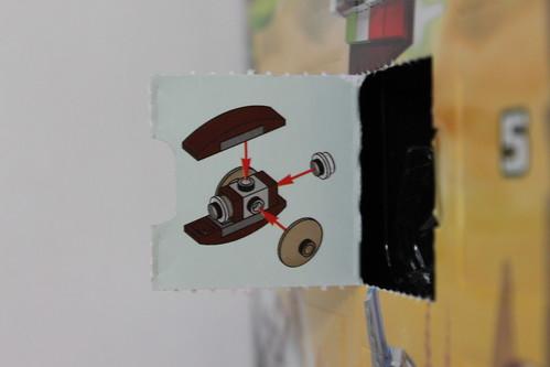 LEGO Star Wars 2013 Advent Calendar (75023) - Day 2 - Count Dooku's Solar Sailer