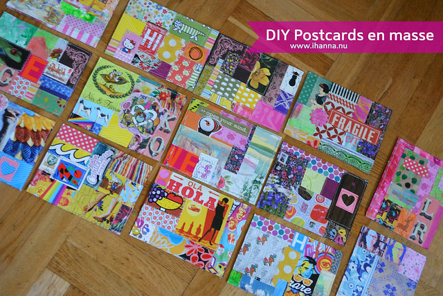 DIY Postcards en masse